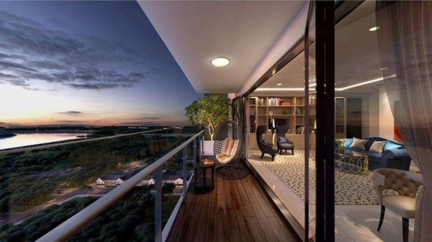 Phối cảnh penthouse Feliz En Vista