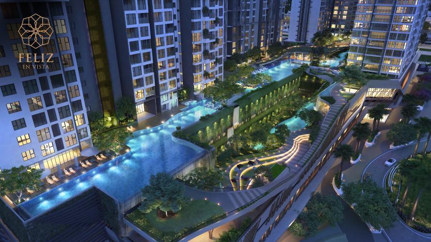 Tiện ích nội khu dự án căn hộ Feliz En Vista